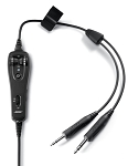 Bose A20 Cable Assembly NO Bluetooth - Straight Cord, Twin Plugs