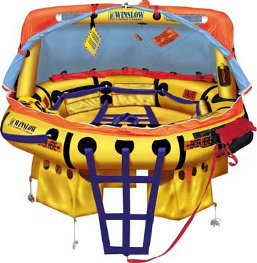 Winslow FAA Approved Part 91/121 (8 to 12 Man) Life Raft Rental - Island Flyer