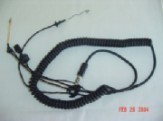 Coiled Main Cable 3' w Volume Control - For MSA Gallet