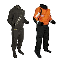 Sentinel™ Series USCG Heavy Duty Boat Crew Dry Suit (Neoprene Seals and Drop-Seat)