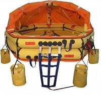 Winslow/Soft Pack 10-15 Person ReversaSmart FA-AV (RVUL) Type 1 LIfe Raft