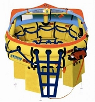 Winslow/Valise Pack - 10 Man Super Light Offshore Plus Life Raft