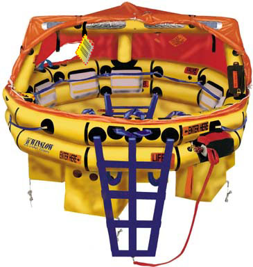 Winslow Life Raft-57FAUL-Hard Pack 5-7 Person Ultra-Light FA-AV (UL) Type One Life Raft