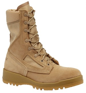 Belleville 340 DES ST  Hot weather steel toe flight boot