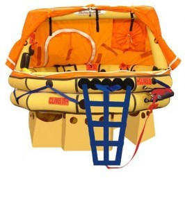 Winslow/Soft Pack 9-13 Person Ultra-Light FA-AV (SA) Type One LIfe Raft