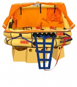Winslow Ultra Light Offshore - 4 Man w/ Valise Pack Life Raft